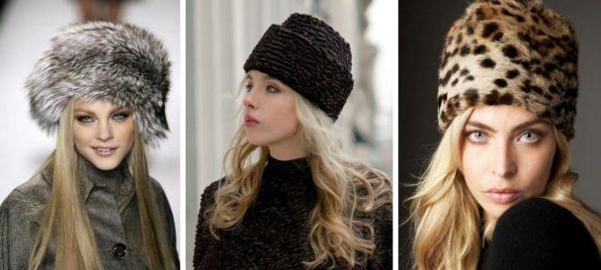 Женские меховые шапки – вязаные 942835185e6c0