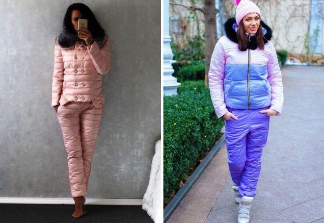 4b39f7f9 Теплый спортивный женский зимний костюм для прогулок с детьми, и не ...