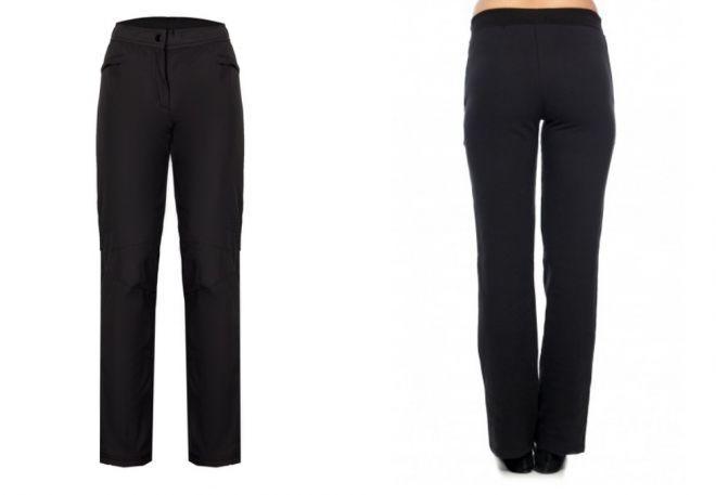 женские утепленные брюки10