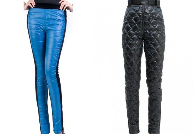женские утепленные брюки11