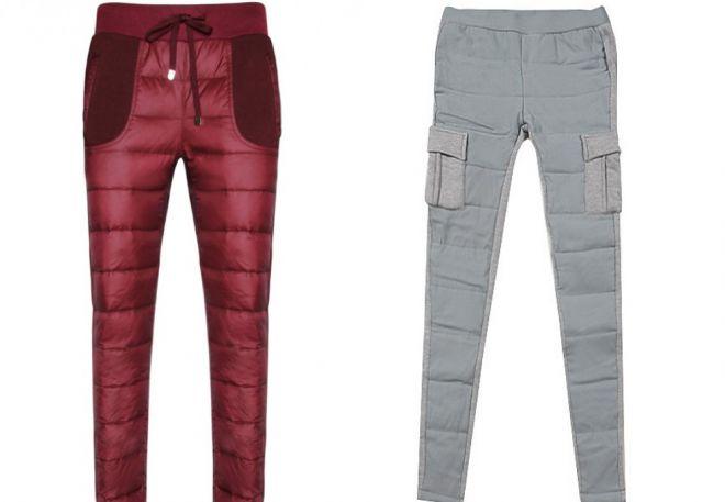 женские утепленные брюки12