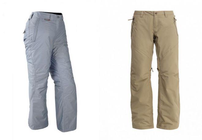 женские утепленные брюки13
