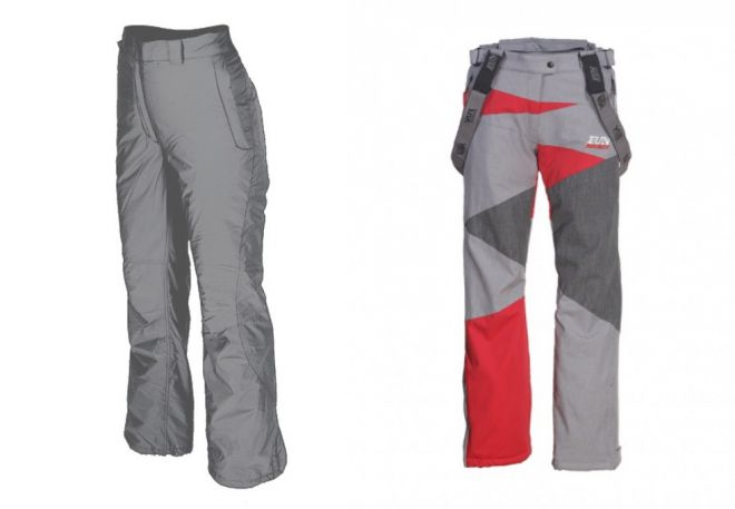 женские утепленные брюки14