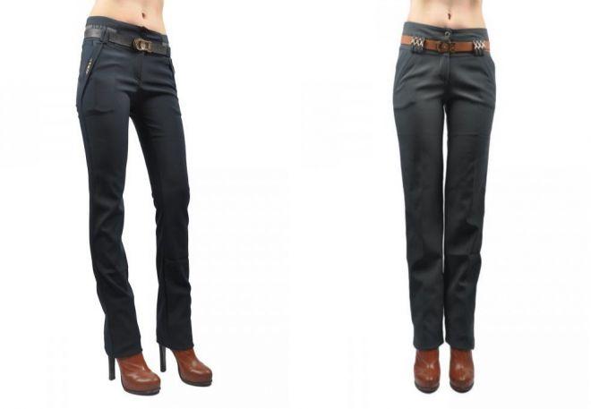 Утепленные непромокаемые женские брюки