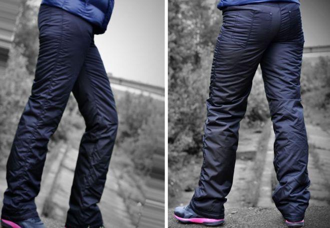 женские утепленные брюки16