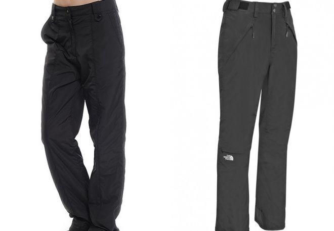 женские утепленные брюки2