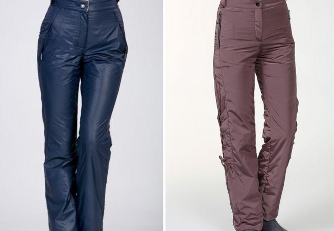 женские утепленные брюки3