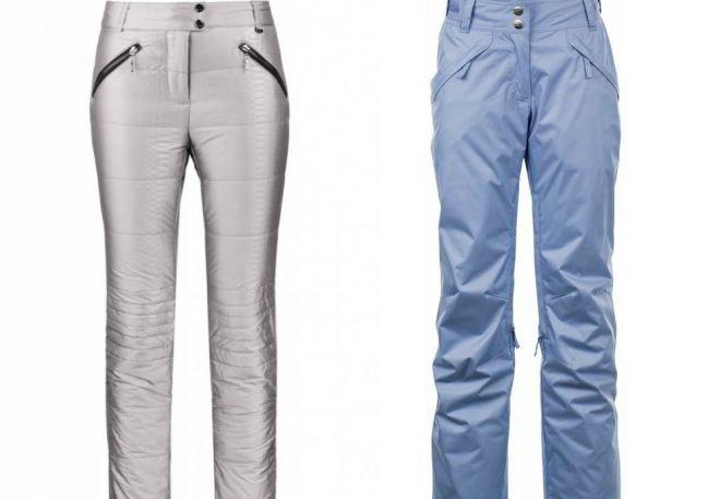 женские утепленные брюки5