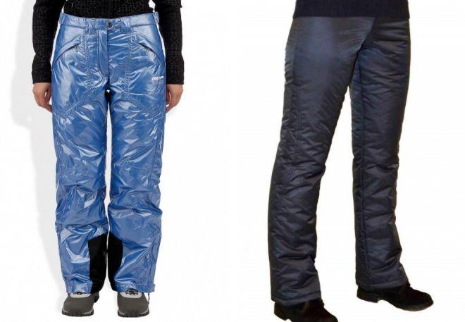 женские утепленные брюки6