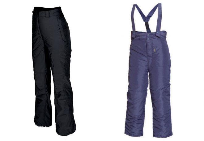 женские утепленные брюки8