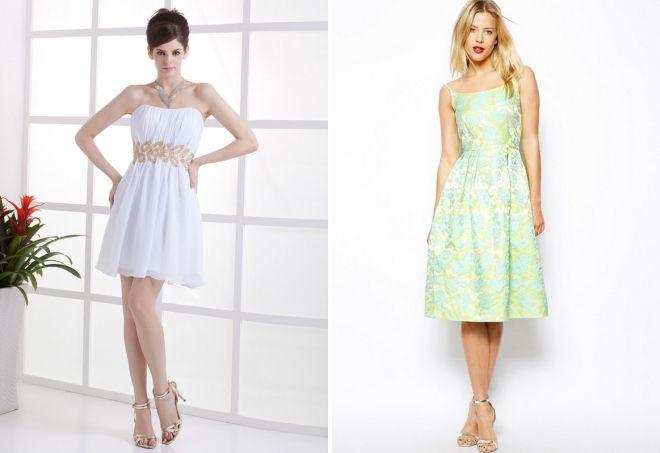 1078bb85d47 Самые красивые длинные и короткие платья для свидетельницы на свадьбу