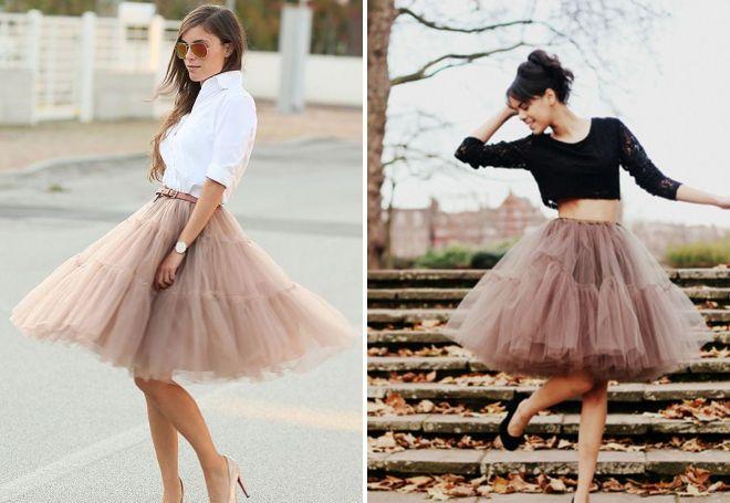 пышные юбки американки
