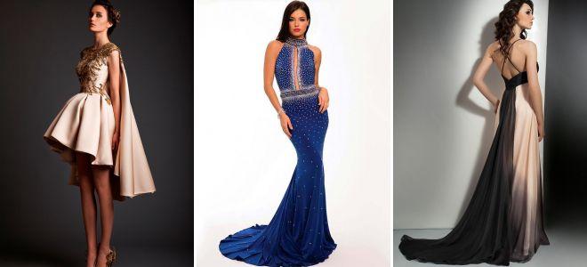 12dd9301134f Модные платья со шлейфом – вечерние и повседневные, длинные и мини