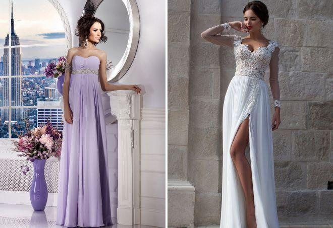 греческие платья с корсетом