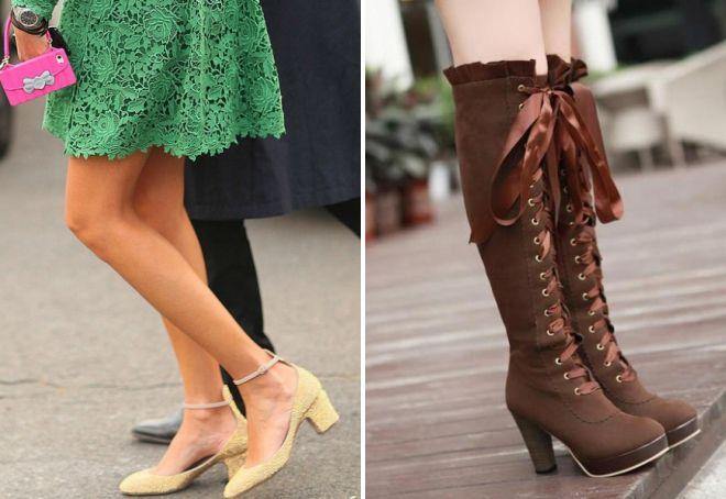 уличная мода 2019 года обувь