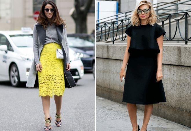 уличная мода юбки 2019