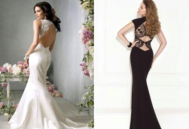 eafd6c73824 Красивые кружевные вечерние платья – короткие и длинные