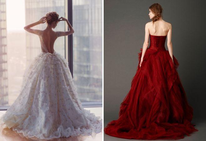 вечернее платье с открытой спиной для девушки