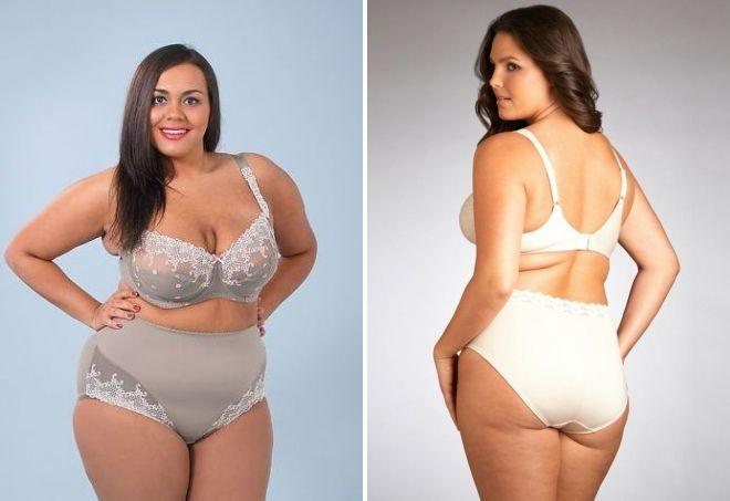 Смачные смотреть фото толстых моделей в нижнем белье