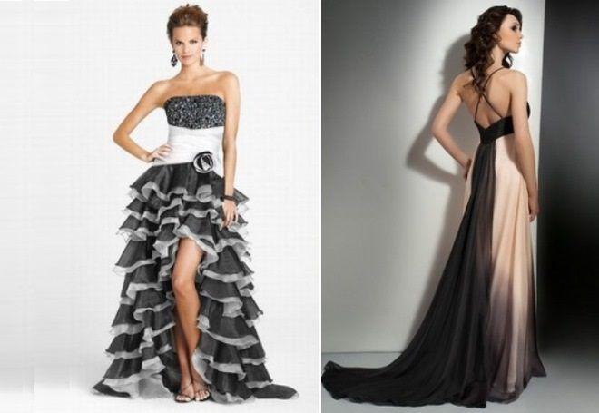 красивые вечерние платья со шлейфом