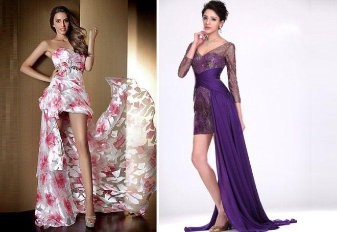 самое красивое платье со шлейфом