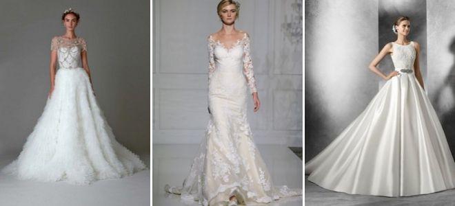 5ec1e695bdd Самые красивые и стильные свадебные платья 2017 – модные тенденции ...