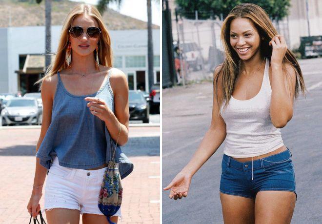 Девушки в обтягивающих джинсовых шортах, интим видео спортсменок