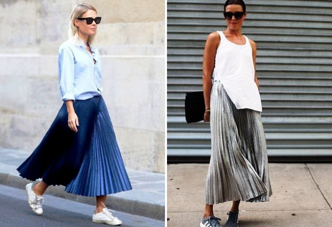 длинные юбки для полных женщин