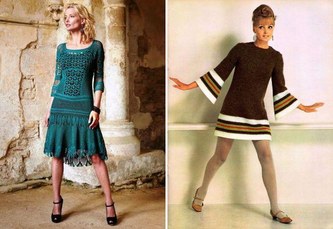 красивые платья в ретро стиле