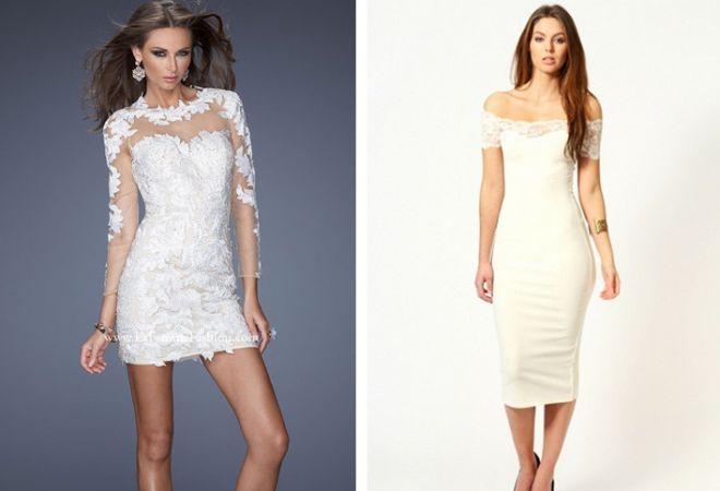 белое платье 10