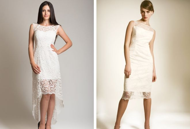 белое платье 11