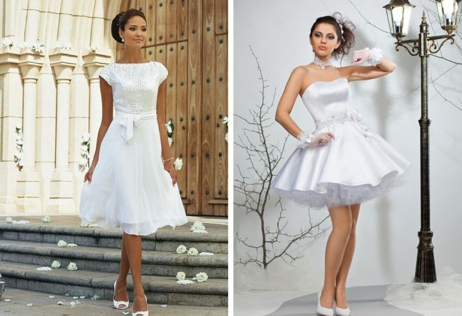 белое платье 12