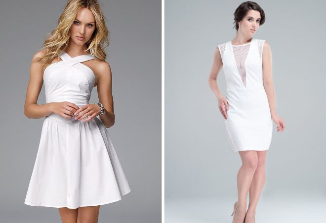 белое платье 14