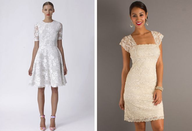 белое платье 16