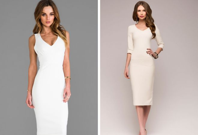 белое платье 17