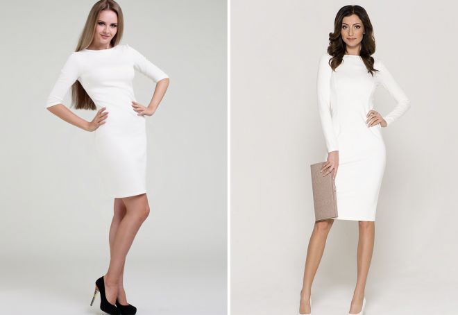 белое платье 18