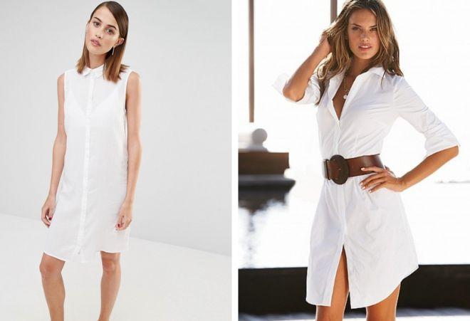 белое платье 19