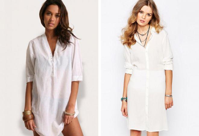 белое платье 20