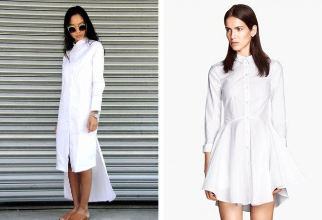 белое платье 21