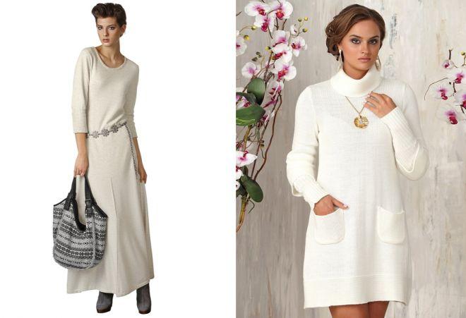 белое платье 25