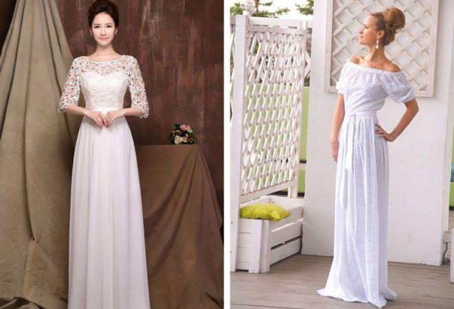 белое платье 4