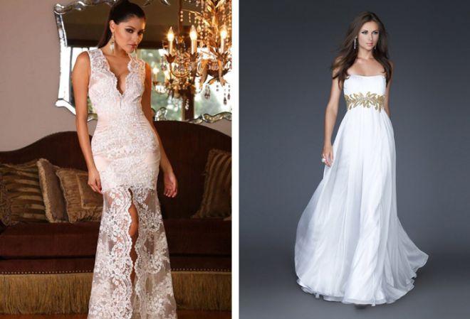 белое платье 6