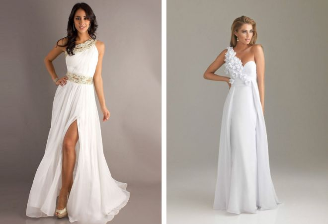 белое платье 7