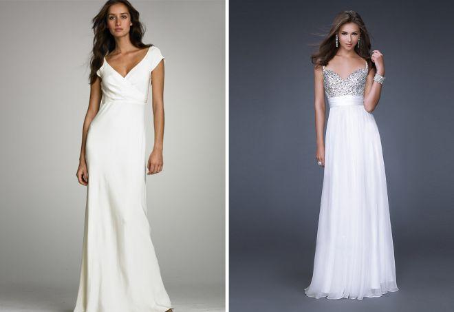 белое платье 8