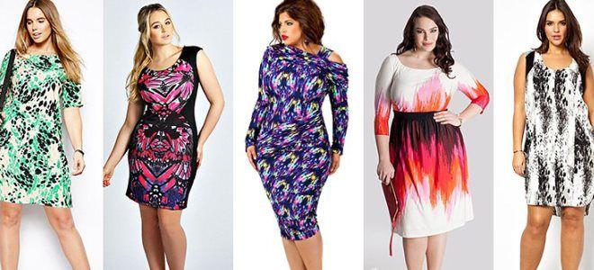 Фасоны летних платьев для полных женщин