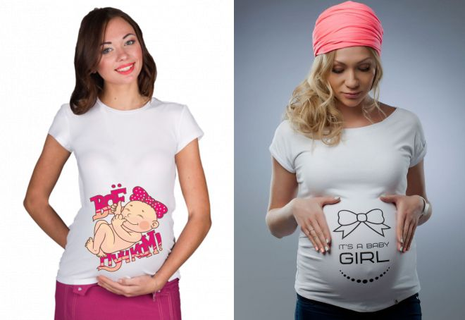 Смотреть Прикольные футболки для беременных – это комфорт и оригинальность видео