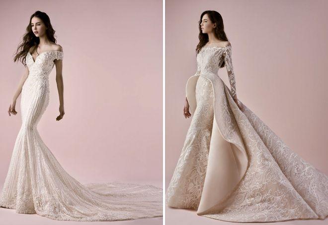 красивые модные свадебные платья