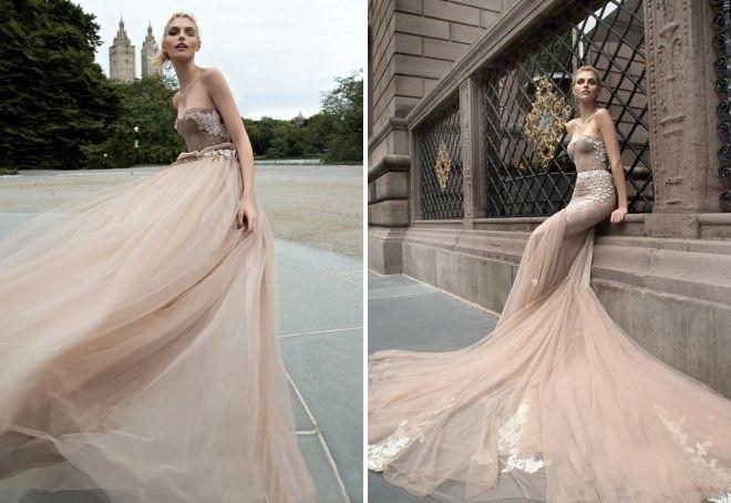 какие свадебные платья сейчас модные