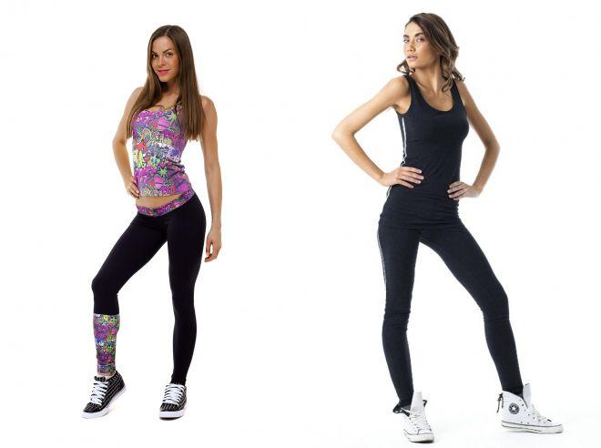 женские спортивные майки для фитнеса