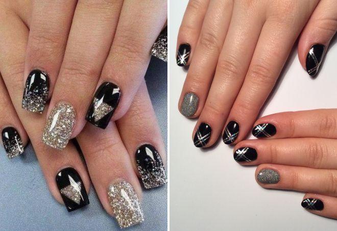 втирка серебро на ногтях
